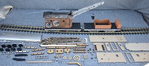 G Scale Steam Crane And Tender Laser Cut Puzzle Kit