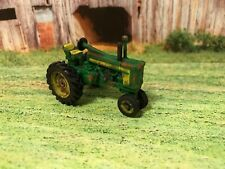 John Deere 720 Rusty Weathered Custom 1/64 Diecast Farm Tractor Barn Find Dirty