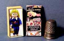 Dollhouse Miniature Sparkle Plenty Doll Box retro dollhouse girl toy  1:12 scale