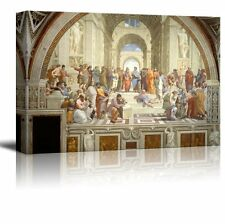 "Wall26 The School of Athens by Raphael Giclee Canvas Prints - 32"" x 48"""
