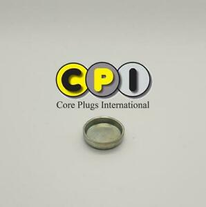 20mm Cup Freeze core plug - CR4 Zinc Plating - British Steel BS1449