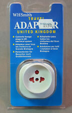 WH Smith Travel Adapter for Europe to UK Electricity used