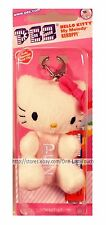 HELLO KITTY By SANRIO Dispenser+Clip PEZ CANDY Assorted Candies PINK BOW New 2/2