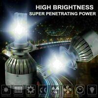 COB LED Headlight Conversion Bulb Kit H7 1400W 210000LM White High Power 6000K