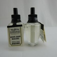 2 New Bath & Body Works Wallflowers Home Fragrance Refill White Sand Beaches