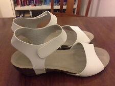 Novo white sandals - size 9