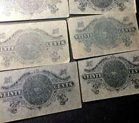 1915 🔥 Mexico 🌞 20 Centavos Gobierno Transitorio Banknotes ✨ Revolution 🦅