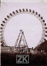 PARIS Fête Foraine ROUE Affiche Magasins DUFAYEL Cinématographe Ville Phot 1900s