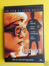 dvd the intruder david bailey nastassja kinski charlotte gainsbourg molly parker