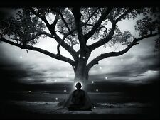 8030 meditation wallpapers poster print On Canvas home art decoraton 24x36 Inch