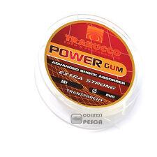 FILO TRABUCCO POWER GUM EXTRA STRONG 10 M TRASPARENTE PESCA EFFICACE RESISTENTE