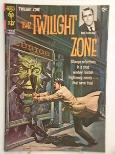 Gold Key THE TWILIGHT ZONE #10 (1965) George Wilson Painted Cover HIGH GRADE