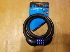M-Wave Cable Combination Lock - Bike Lock Security Cable - 12 X 1000mm