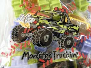 Monter truck, toddler toys. 6each new in carry bag.
