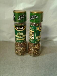 TIP AND GRIND ALESSI, WHOLE MIXED PEPPERCORN , 2.39 OZ, EXP:12/29/21