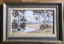 Anne Holmes Australian Artist - The outback  - Landscape & Gum Trees