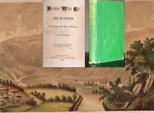Delaware Water Gap Scenery Legends Early History 1870 PA NJ Chromolithograph