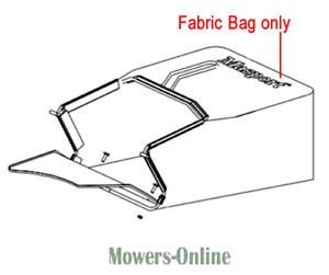 Genuine Masport Lawnmower Fabric Grassbag 557263 Rotarola Push RRSP18 RRSPE18
