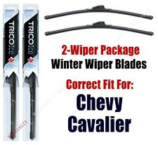 1982-1989 Chevrolet Chevy Cavalier WINTER Wipers 2-Pack Super-Premium 35160x2