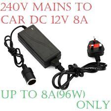 8 A 240 V Enchufe de alimentación de red encendedor de cigarrillos a DC coche cargador Power Adaptador 12 V