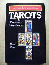 Tarots pratiques et interprétations La sagesse des arts divinatoires /Z113
