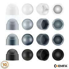 CACHE ECROU CAPUCHON BOUCHON PLASTIQUE blanc gris noir anthracite