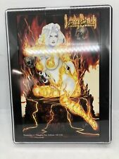 Lady Death Moments #1 Fire Edition NAUGHTY Signed W/ COA Brian Pulido 68/100