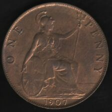 More details for 1907 edward vii one penny coin | british coins | pennies2pounds