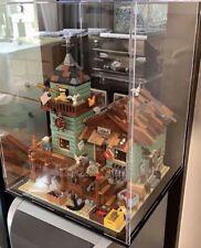 Lego display case for LEGO  Ideas Old Fishing Store 21310 ( Australia Seller)