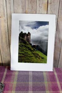 Gylen Castle Scotland Print and Mount