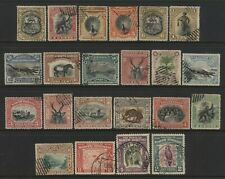 North Borneo Collection 22 Stamps Used