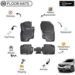Vehicle Specific Rubber Floor Mat for Renault Koleos 2016 - Up