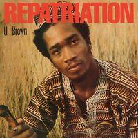 U. Brown - Repatriation (2018)  CD *Bonus Tracks*  NEW/SEALED  SPEEDYPOST