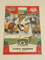 2008 Score Football Red Super Bowl XLIII - Aaron Rodgers - Green Bay Packers