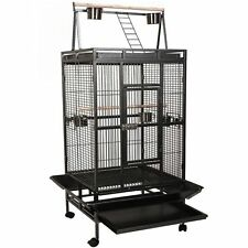 Large Bird Cage Parrot Finch Macaw Cockatoo Pet Supplies Perch grate