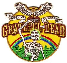 GRATEFUL DEAD - SUNSHINE / DAYDREAM - IRON or SEW-ON PATCH