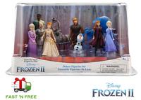 Disney Frozen 2 Deluxe Figure Play Set - Anna,Elsa,Olaf,Sven,Kristoff & More
