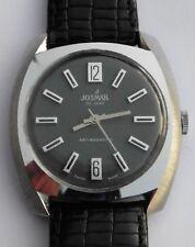 Retro 1970s Josmar Deluxe Caballeros reloj mecánico 866 ss BFG servicio de garantía