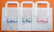 "Eid Bag-15 Paper Goody Bags In 3  Colour Print(7x9x3.5"")"