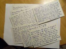 EXHIBIT SUPPLY TRUE LOVE LETTERS FOR MEN SET - 16 ARCADE CARDS  NEAR MINT