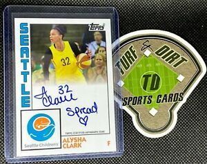 2020 Topps Seattle Children's Hospital Autograph #SCH-5 ALYSHA CLARK