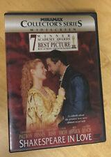 Shakespeare in Love (Dvd, 1999, Widescreen, Miramax Collectors Series)