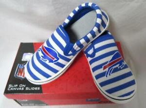 Buffalo Bills Women's Slip On Canvas Slides Shoes, Size 7, 8 or 9 B4 177