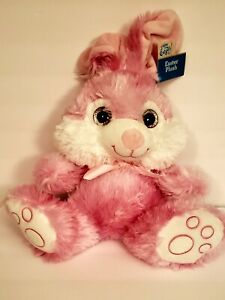 Homerbest Plush Easter Bunny Pink Bow Cute Cuddly Soft