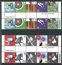 LA GRANDE-BRETAGNE 2009 JEUX OLYMPIQUES 2012 PAIRES DE GOUTTIÈRE NON MONTÉS