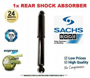 1x SACHS BOGE Rear LEFT SHOCK ABSORBER for VAUXHALL ASTRA 1.3 CDTi 2005-2010