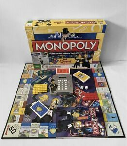 Monopoly Simpsons Electronic Banking Board Game 100% Complete Fully Working VGC