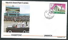 1993 VATICANO VIAGGI DEL PAPA JAMAICA KINGSTONE - SV7-2