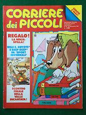 CORRIERE DEI PICCOLI n.38/1991 (ITA) con Inserto Taglia & Ritaglia