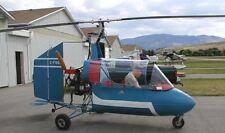 J4B2 Barnett Gyrocopter J4-B2 Helicopter Handcrafted Wood Model Large New